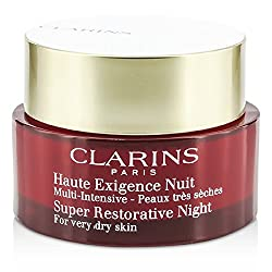 Clarins - Super Restorative Night Age Spot Correcting Replenishing Cream (For Very Dry Skin) - 50ml/1.6oz
