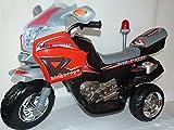 Kindermotorrad Elektromotorrad Topracer Kinder von 4-8 Jahre bis max. 40kg (Schwarz)