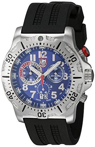 Luminox 8153-RP 45mm Stainless Steel Case Black Rubber Sapphire Crystal Men's Watch