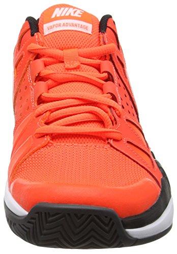 Nike Air Vapor Advantage - Chaussures Multisport Outdoor homme Red (Crimson/White-Black-Dark grey)