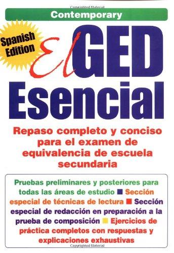 El Ged Esencial: Repaso Completo y Conciso Para El Examen De Equivalencia De Escuela Secundaria por Contemporary Books