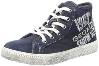 Geox Tacos B, Baskets mode garçon - Bleu (Navy), 31 EU