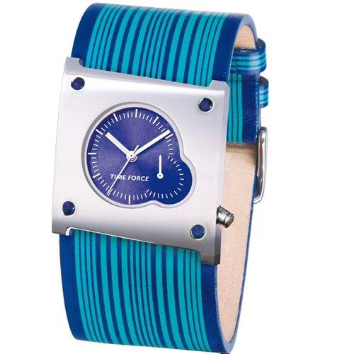 Time Force Montre Pour Femme Quartz Marin/vert