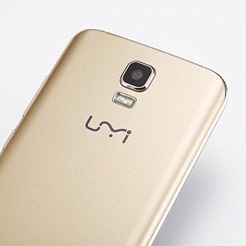 UMI Roma X 5 1 Android m  vil set 3 G 5 5 pulgadas 1280   720p HD MT6580 quad core 1 G RAM 8 G ROM 13 0MP GSM WCDMA  de oro