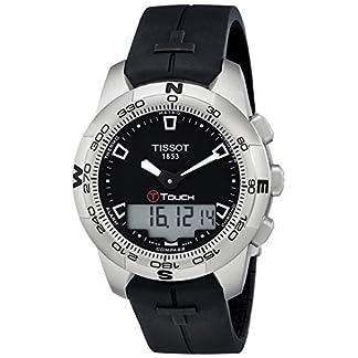 Tissot T0474201705100 – Reloj analógico de caballero automático con correa de acero inoxidable multicolor