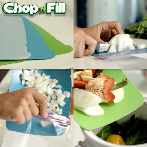 Zip N Store-Chop N Füllen-L Schneidematten - Mat-board-speicher