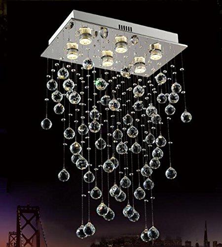 Lamparas de techo de cristal Moderna lámpara de cristal minimalista dormitorio LED...