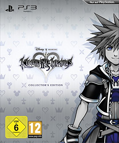 Hearts Kingdom Ps3 (Kingdom Hearts HD 2.5 ReMIX - Collectors Edition (exklusiv bei Amazon.de) - [PlayStation 3])