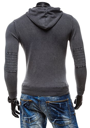 BOLF - Pull - Tricot – S-WEST B918 - Homme Noir