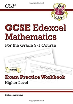 GCSE Maths Edexcel Exam Practice Workbook: Higher - for the Grade 9-1 Course (includes Answers) (CGP GCSE Maths 9-1 Revision) from Coordination Group Publications Ltd (Cgp)