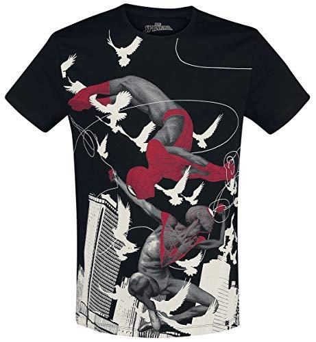 Spider-Man Miles Morales - Spider-Man T-Shirt schwarz L