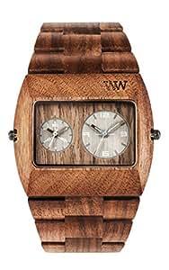 Wewood jupiter dado rs orologio di legno orologi for Orologio legno amazon
