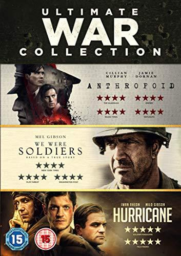 WAR TRIPLE (We Were Soldiers / Hurricane / Anthropoid) [DVD]