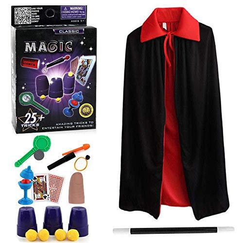 Harxin Juego de Magia,Magic Show,Trucos Magia Set Infantil Magos Caja Creativo Aprendizaje...