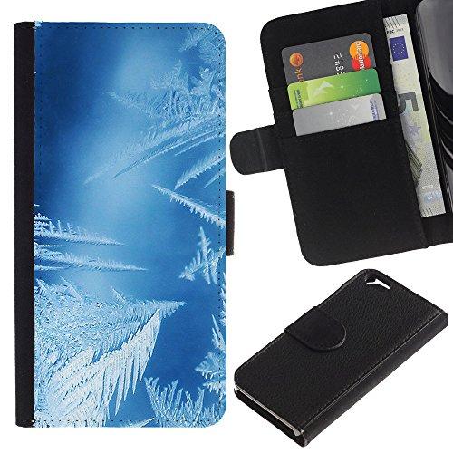 Graphic4You GOLDEN HOLES Muster Brieftasche Leder Hülle Case Schutzhülle für Apple iPhone 6 / 6S Design #16