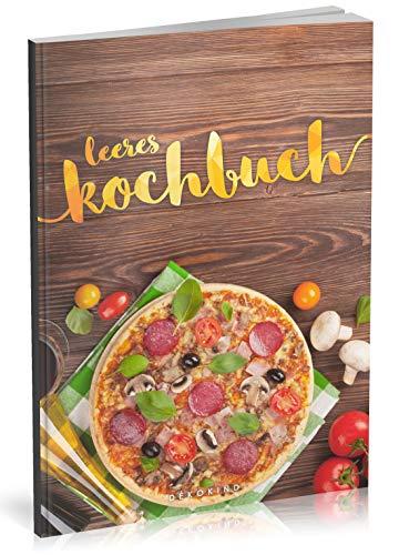 ochbuch: Für über 80 Lieblingsrezepte || Ca. A5 Softcover || Rezeptbuch zum Selbstgestalten / Selberschreiben mit Inhaltsverzeichnis || Motiv: Pizza ()