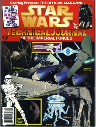 Star Wars: Technical Journal of the Imperial Forces, Vol. 2 by Shane Johnson (1994-11-02) par Shane Johnson