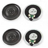 20mm Dia 64Ohm 0,25W Externe Magnet Lautsprecher Horn Lautsprecher grün