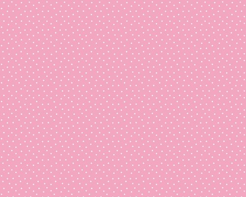 Preisvergleich Produktbild Esprit Kids Vliestapete Lucky Love Tapete Unitapete 10,05 m x 0,53 m rot weiß Made in Germany 219022 2190-22