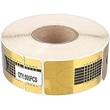 Beauty7 Nail Art 500 PCS Chablons Ongles Forme Conseils Extension Stickers Acrylique UV Gel Resine Manucure