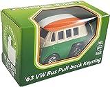 1963 Volkswagen T1 Bus-Schlüsselanhänger zum Zurückziehen in dreifarbigem Design