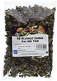 Especias Pedroza Té Blanco China Pai Mu Tan - 5 Paquetes de 100 gr - Total: 500 gr