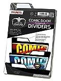 Ultimate Guard Premium Comic Book Intercalaires (Lot de 25, Noir)
