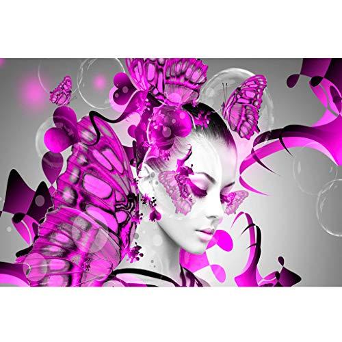 friendGG❤Diamond Malerei DIY 5D Diamant Malerei, Kristall Strass Diamant Stickerei Gemälde Kunst Kreuz Handwerk Wandtattoos für Wohnzimmer Schlafzimmer