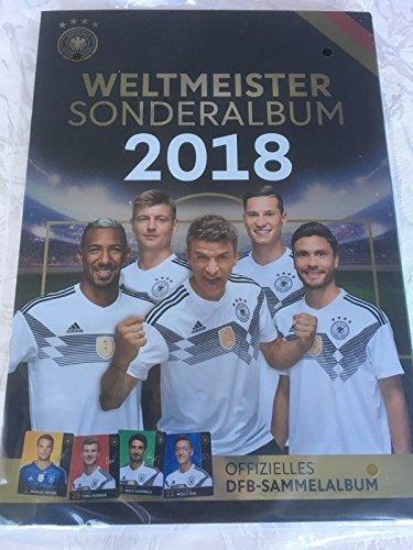Offizielles DFB Sammelalbum REWE Sammelheft Sonderalbum WM Weltmeister 2018