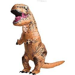 Disfraz T-Rex hinchable adulto Única
