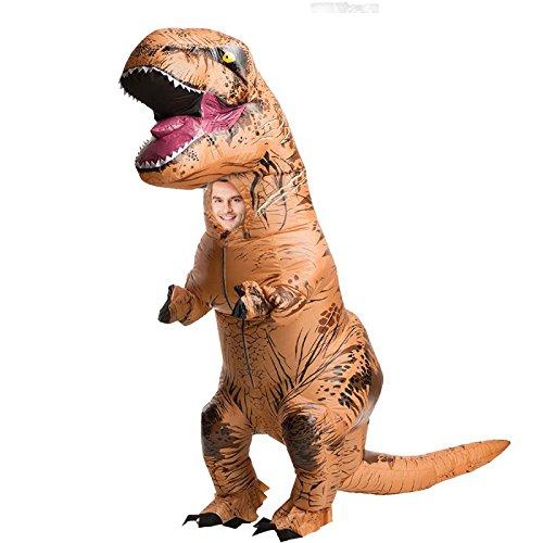 Aufblasbares T-Rex Kostüm für Erwachsene Einheitsgröße (T Rex Kostüm Für Erwachsene)