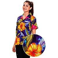 KY's   Original Camicia Hawaiana   Signori   M   Maniche Corte   Tasca Frontale   Hawaii Stampa   Statua   Verde