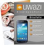 uwazi Samsung Galaxy S4 Mini Semi Glasfolie - gehärtete Schutzfolie mit Spezialbeschichtung gegen Fingerabdrücke