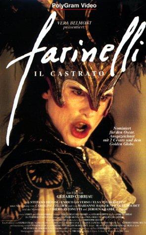 Bild von Farinelli - Il Castrato [VHS]