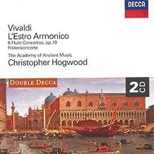 Vivaldi: L'Estro Armonico ; 6 Flute Concertos