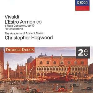 L'Estro Armonico / Concertos pour flûte