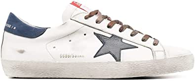 Golden Goose Luxury Fashion Uomo GMF00101F00034310280 Bianco Pelle Sneakers | Ss21