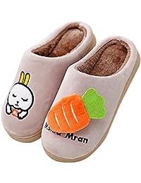 QZBAOSHU Inverno Pantofole Scarpe per Bambine e Ragazze Ragazzi Pantofole e651ed61cdb