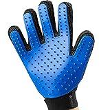 PREMIUM Fellpflege-Handschuh in 100% Silikon von KIRANDO - Enthaaren, Pflegen, Massieren, Baden - ideal für sensible Hunde & Katzen!