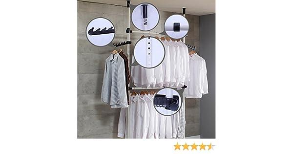 Plus teleskop garderoben kleiderschrank system