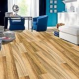 TPulling Neue Exquisite Mode 3D Holz Aufkleber selbstklebende Bodenbelag Aufkleber Simulation Holzboden Aufkleber Küche Schlafzimmer Wohnzimmer Boden PVC Aufkleber (C)