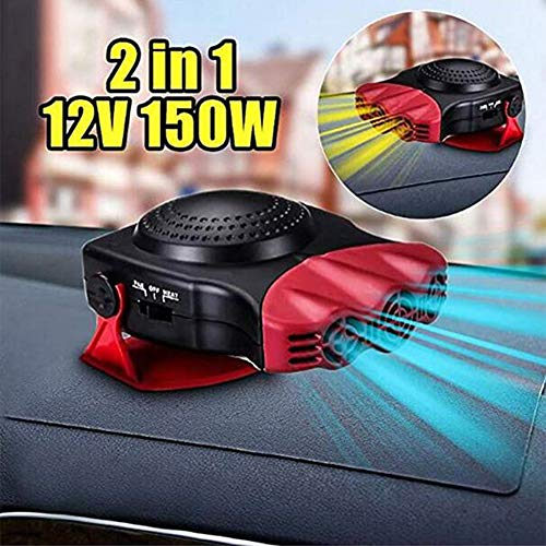 JFW-12V 2In1 Voiture Camion Chauffage Automatique Chaud Ventilateur Froid Pare-Brise Fenêtre Désembuage Dégivreur Multi-Fonction Économie D'énergie À Faible Bruit