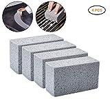 Gutyan Piedra limpiadora Cleaning Block Parrilla Bloques de Ladrillos de Limpieza Reutilizables Limpieza Piedras de Piedra pómez para Eliminar Manchas BBQ 4pcs