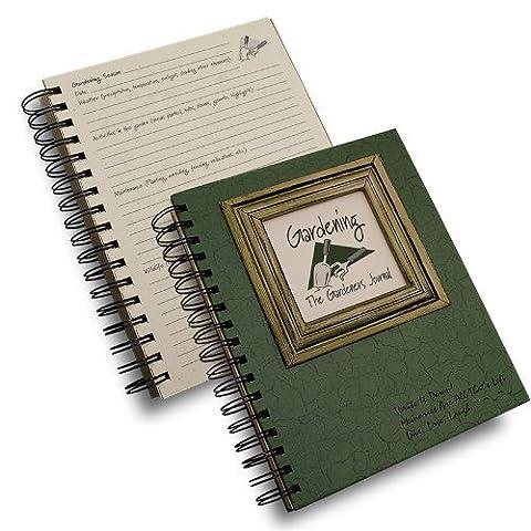 The Gardener's Journal - Dark Green Spiral Bound by Journals Unlimited