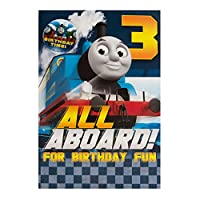 Gemma International Thomas The Tank Engine 3rd Birthday Card