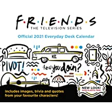 Friends 2021 Desk Block Calendar - Official Desk Block Format Calendar
