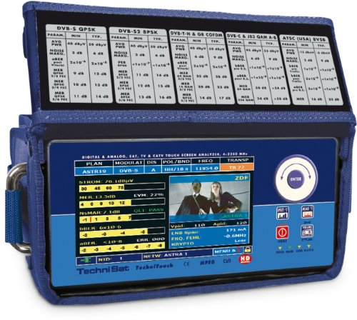 Technisat TechniTouch TV-SAT Kombi Messgerät