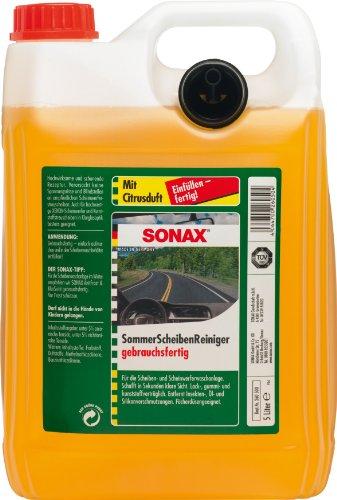 Preisvergleich Produktbild 4 x Sonax 260500 Sommer Scheibenreiniger je Kanister 5 Liter sind insgesamt 20 Liter
