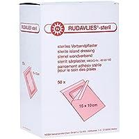 Rudavlies Steril Wundschnellverband 15 x 10 Centimeter (cm) 50 Stück preisvergleich bei billige-tabletten.eu