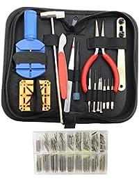 286-teiliges Uhren-Reparatur-Set mit Metall-Armband-Stift und Deckel-Öffner by KurtzyTM